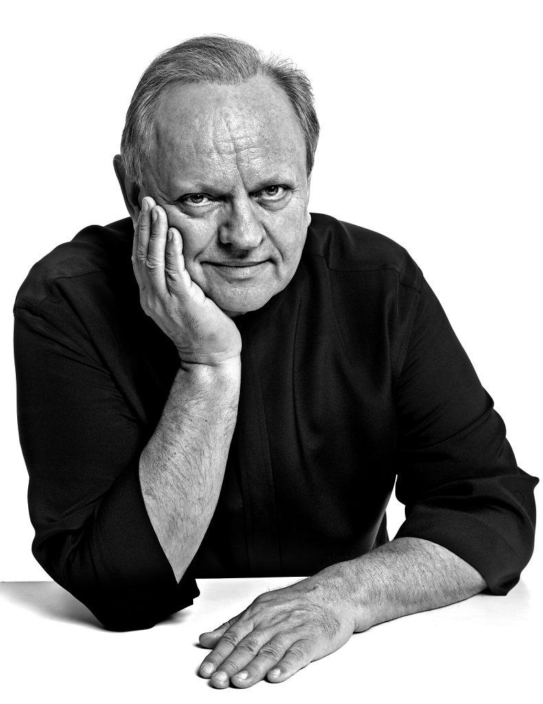 © Stéphane de Bourgies, Joël Robuchon, janvier 2013