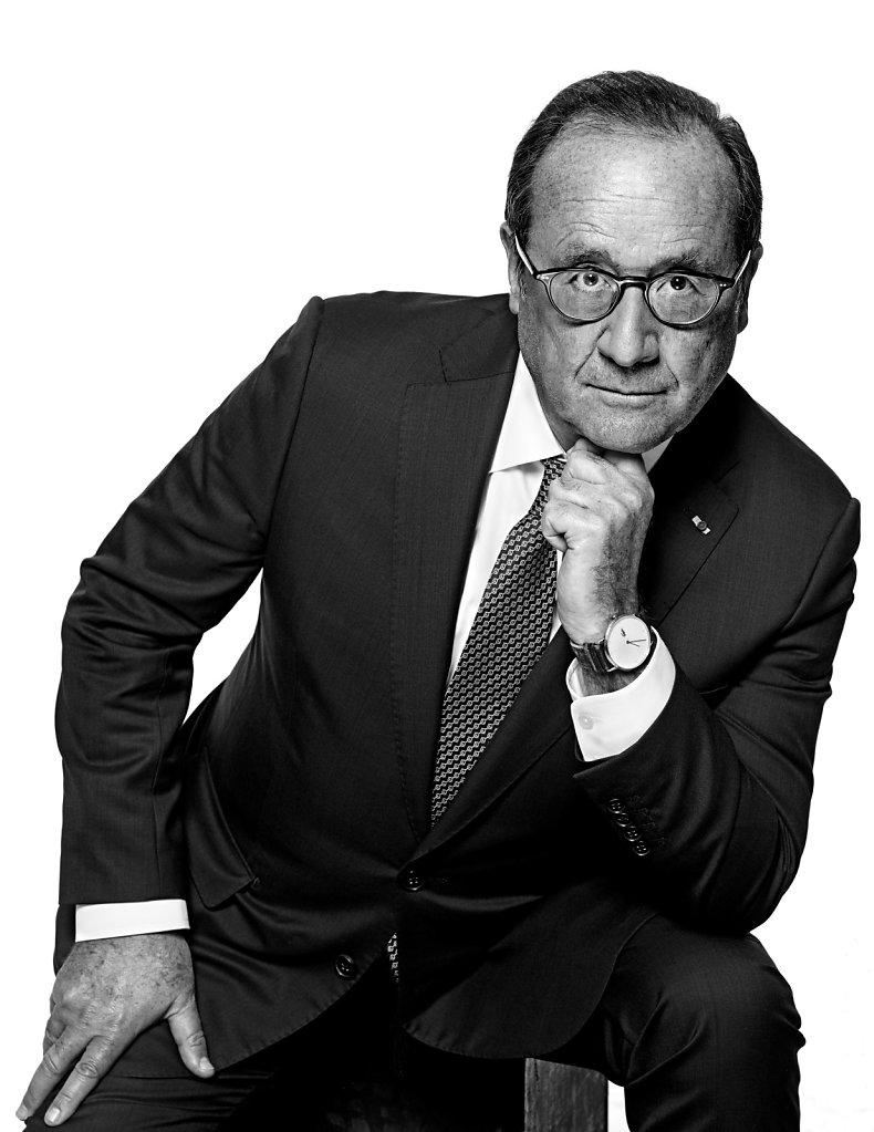 © Stéphane de Bourgies, François Hollande